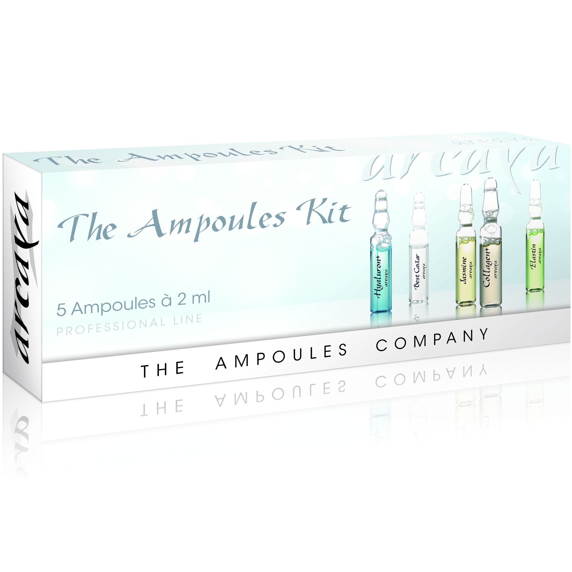 Arcaya The Ampoules Kit Πακέτο Περιποίησης Εντατικής Φροντίδας 5 αμπούλεςx2ml